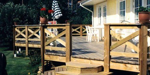 Õige terrass on puidust