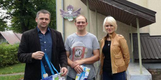 Puumarket tegi kingituse Tartu väikelastekodule!