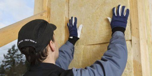 Klaasvillaga soojustad katused, põrandad, seinad ja vahelaed
