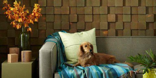 Isikupäraseid ja meeleolukaid seinalahendusi lihtsatest puuklotsidest saab teha ka ise