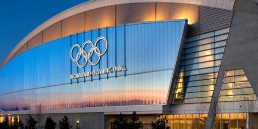 Ablaste männiüraskite mõrvatud puudest ehitati kaunis olümpiaareen
