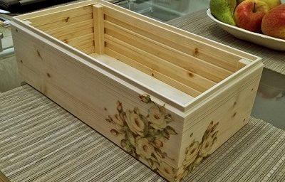 Tee ise puidust kast lillepottidele