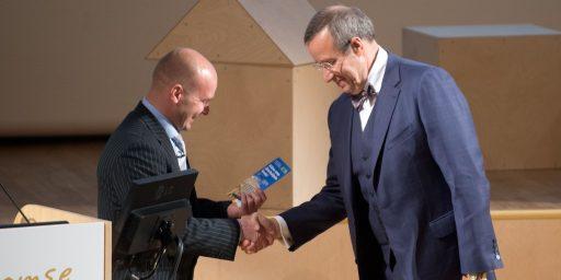 President Ilves julgustas puitu rohkem kasutama ka ühiskondlike hoonete ehitamisel
