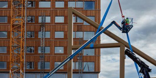 Norras sai valmis maailma kõige kõrgem puithoone