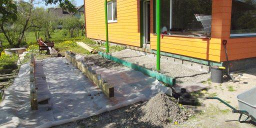 Kuidas ette valmistada terrassi aluspind
