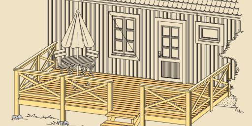 Nõuandeid terrassi ehituseks!